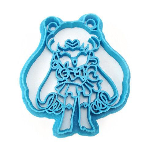 Cute anime and geeky cookie cutters