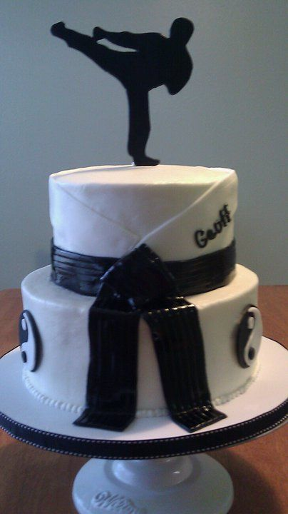 Birthday Cake For Black Belts Motivtorten Quot Sport