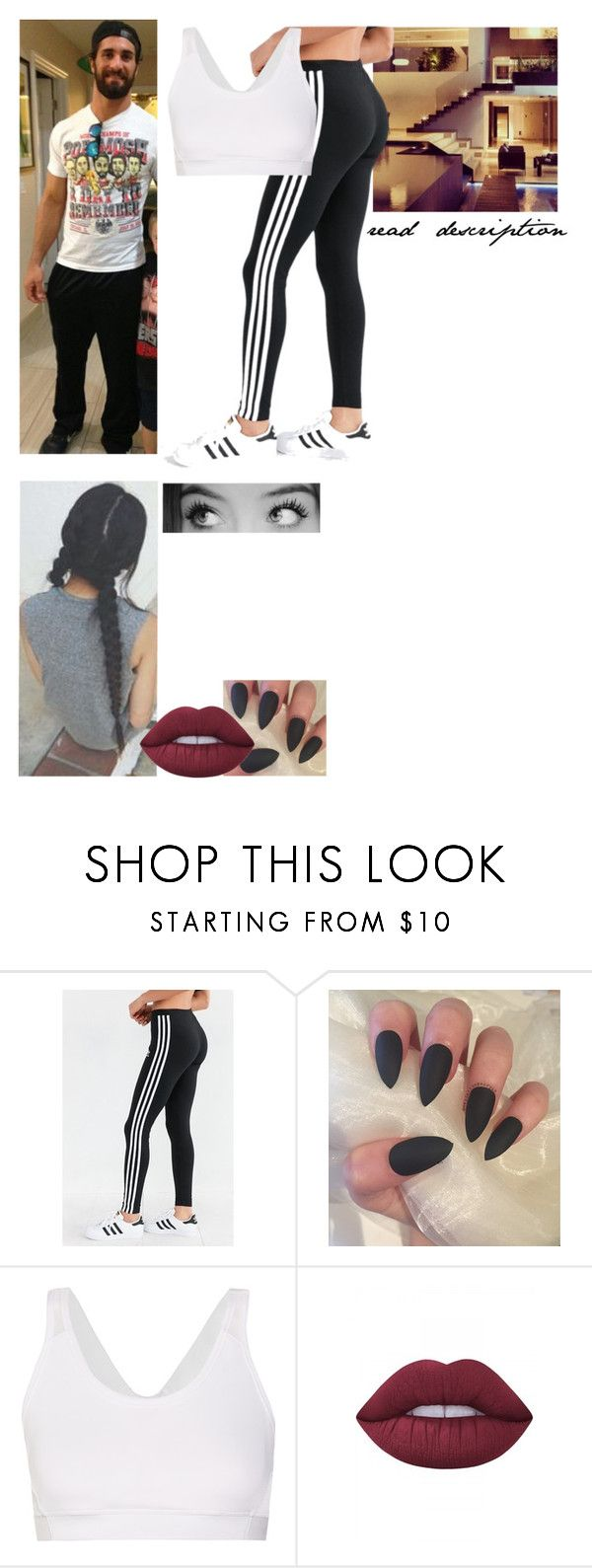 """""""You forgot this"""" by caton-486 ❤ liked on Polyvore featuring adidas, Gucci, Lime Crime and kitchen"""