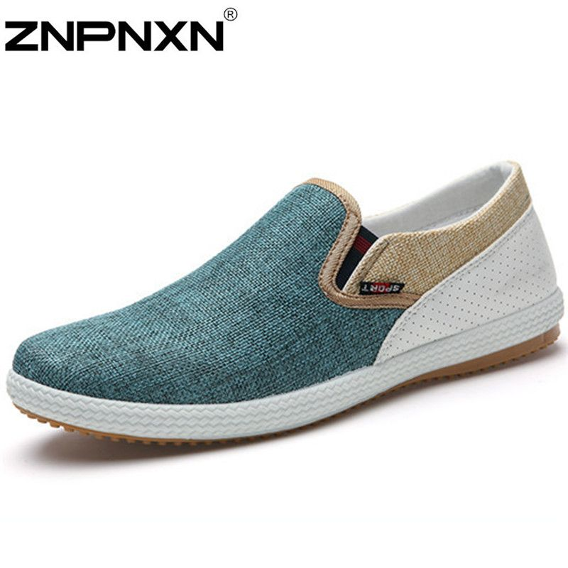 New Mexico Love Men Fashion Walking Shoes Quick Drying Slip-On Loafers Shoes