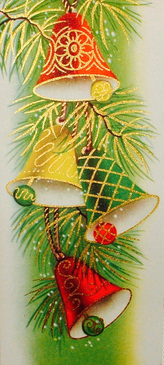 Vintage Candy Cane. Retro Christmas Card. | Candy Cane Crazy ...