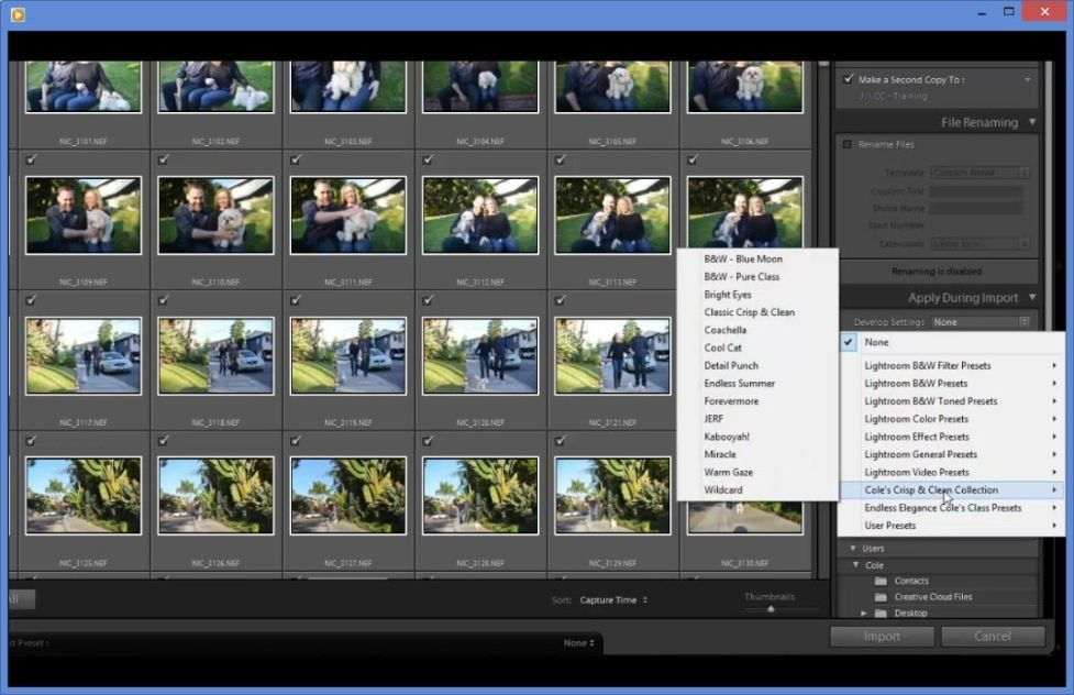 Import to Export Workflow Course Lightroom Photo Editing