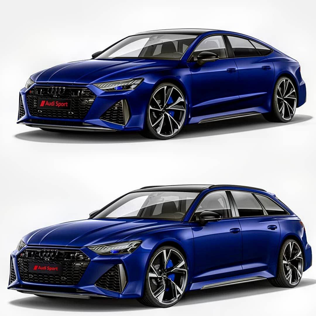 Which one is your choose The new Audi RS7 Sportback 2020