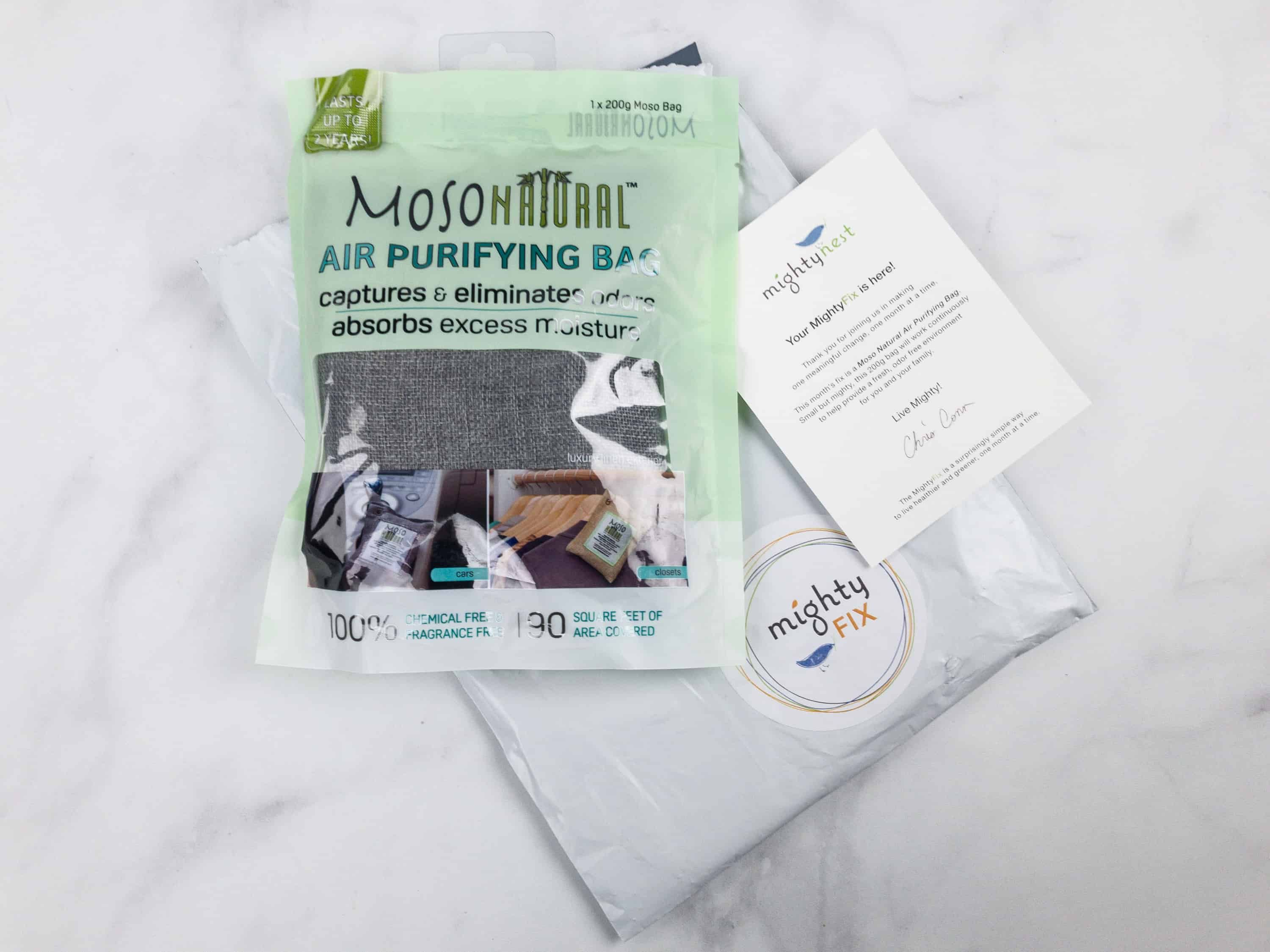 Mighty Fix Subscription boxes, Coupons, Air purifier