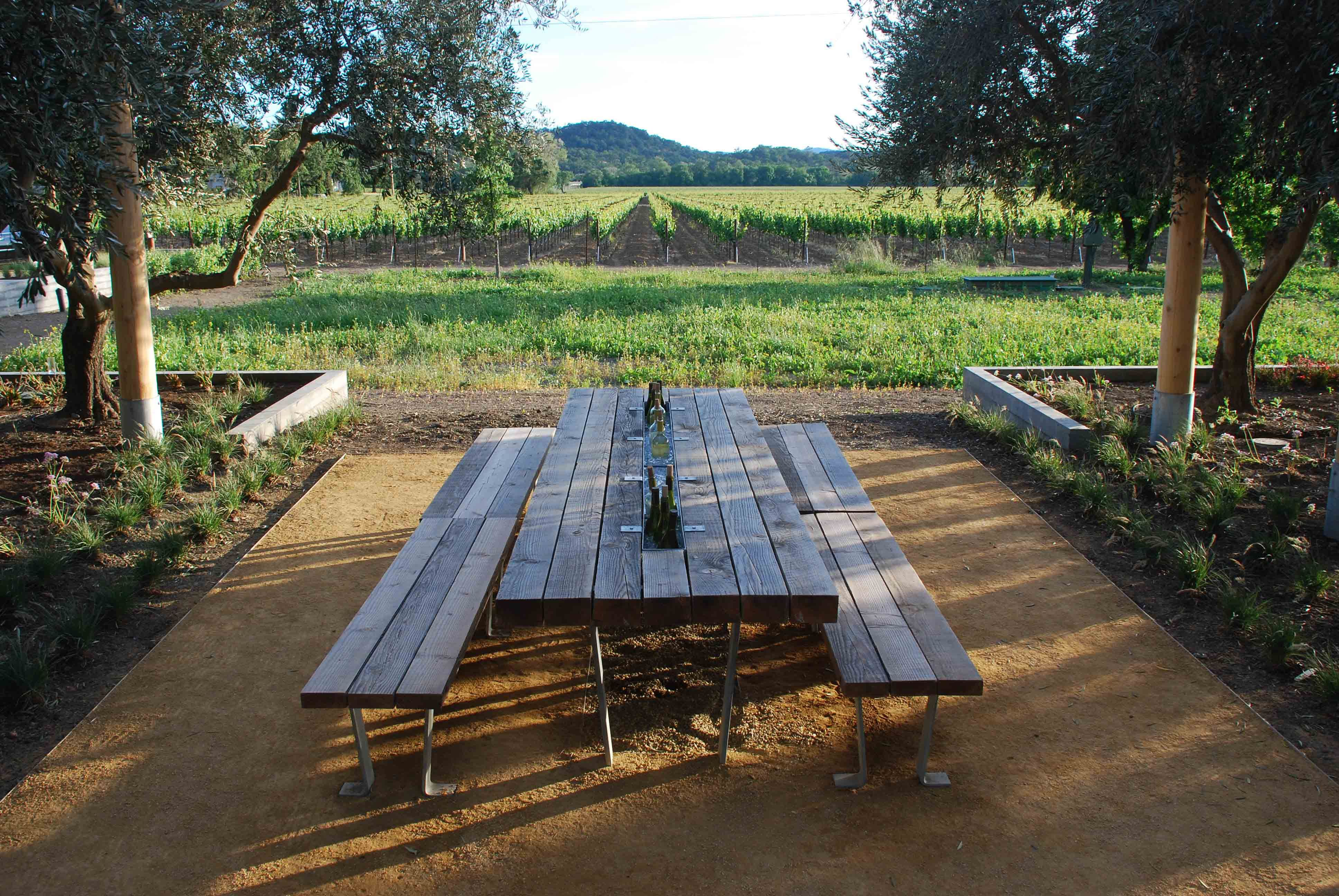 Table I Designed At Medlock Ames Tasting Room Tasting Room