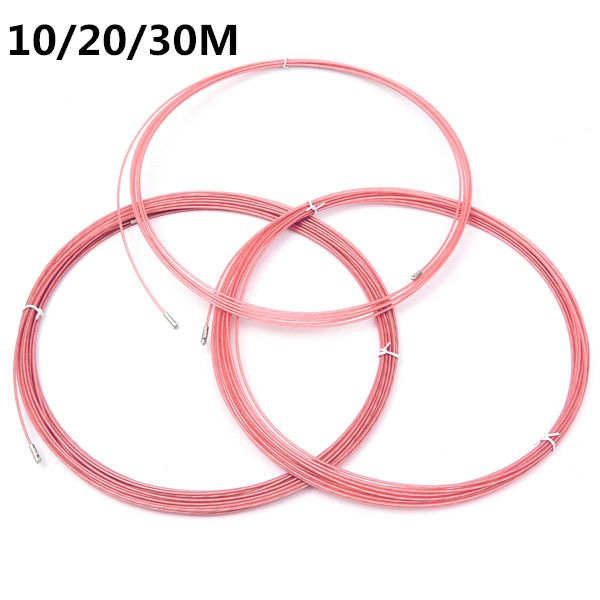 3.5mm Pink Electrician Conduit Wire Cable Puller Ducting with Wheel ...