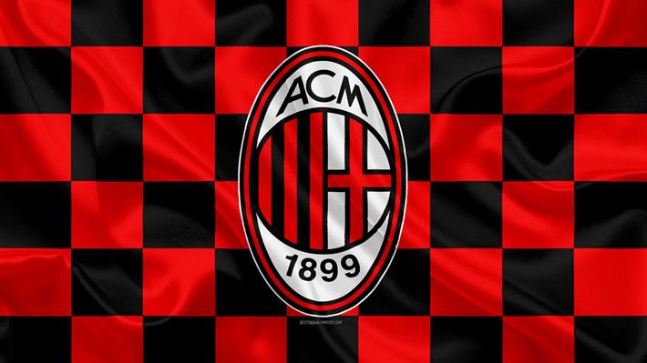 Ac Milan Lyrics Anthem En 2020 Futbol Bandera A Cuadros Milan