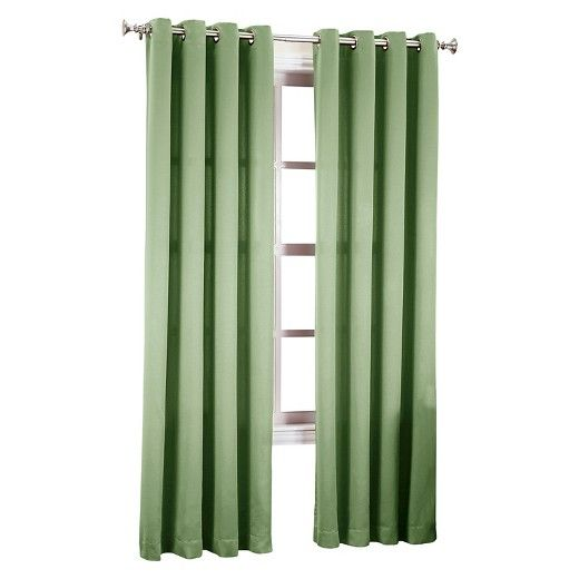 Seymour Grommet Top Room Darkening Window Curtain Panels Sun
