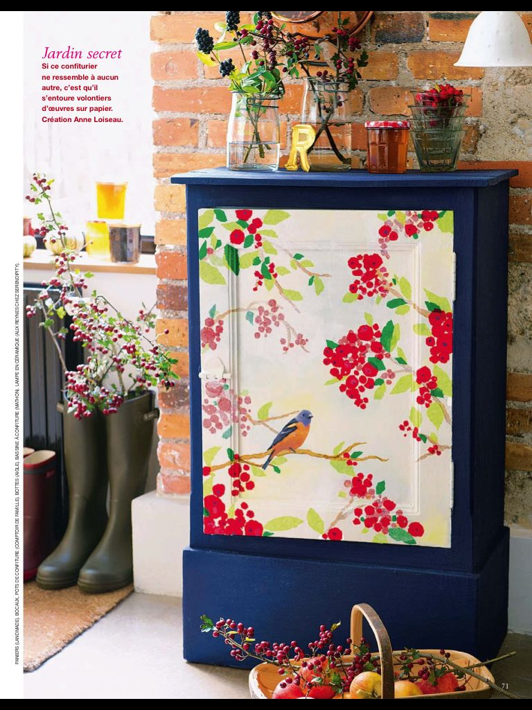 From Marie Claire Idees- how gorgeous (con imágenes)  Pintura