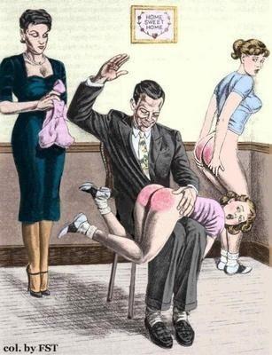 English gentleman spank
