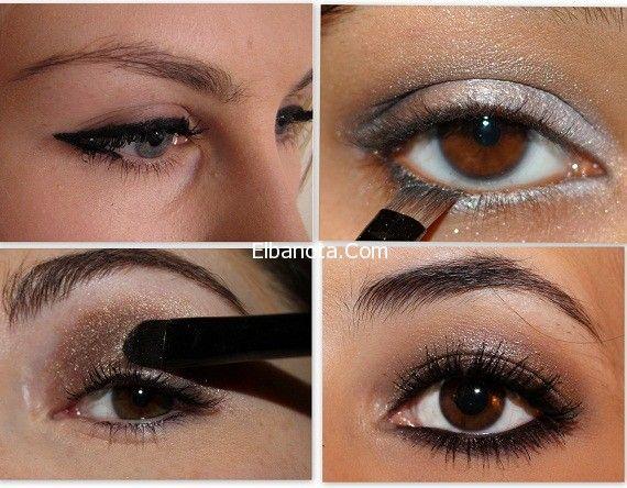 تعلمي طريقة عمل مكياج لتكبير العيون الصغيرة بالصور جمال رشاقة عالم المرأة بنوته كافيه Eye Make Eye Makeup Tips Eye Make Up