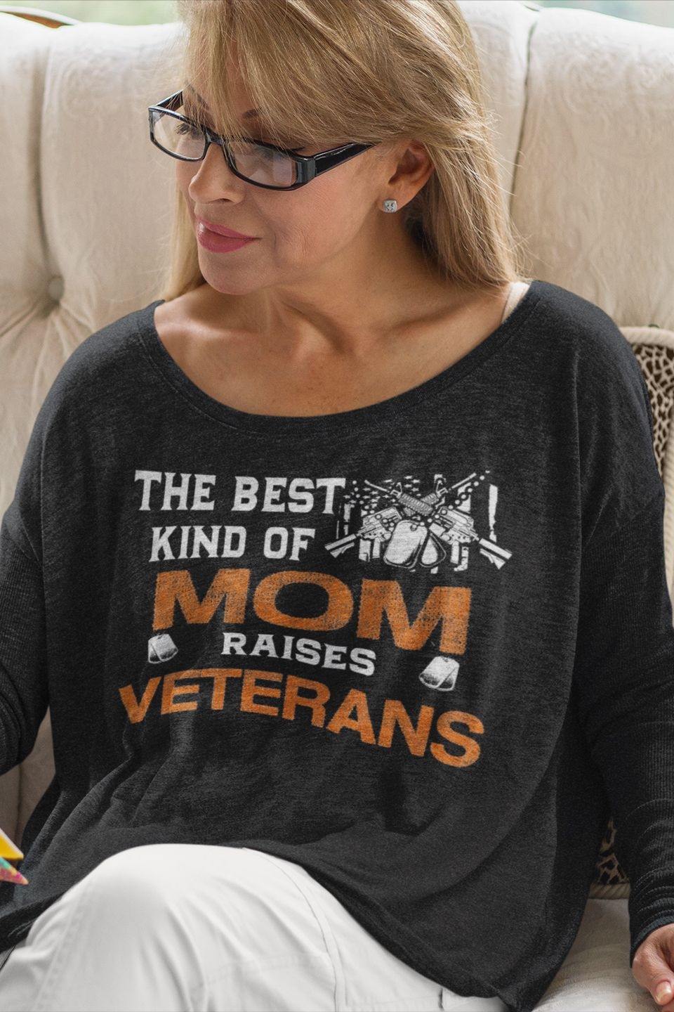 reputable site 62646 a3d52 The Best Kind Of Mom Raises Veterans | US Veteran Gifts ...