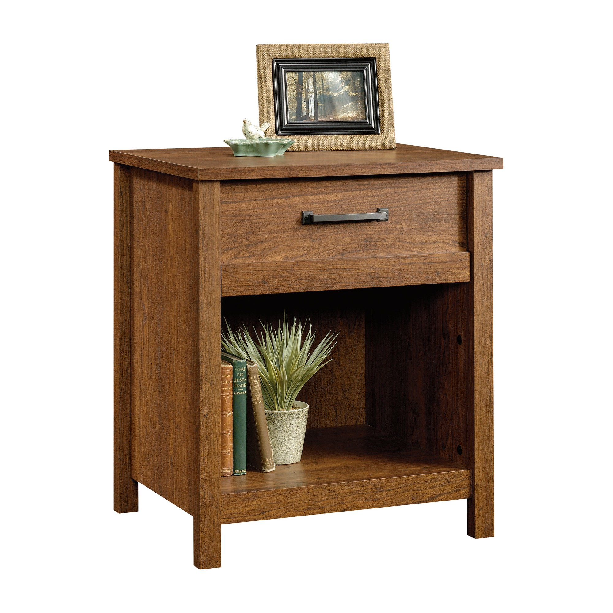 Cannery Bride Nightstand With Drawer And Storage Milled