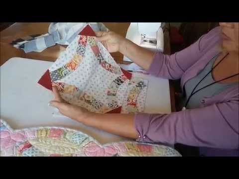 Tensisterstv Demos Double Wedding Ring By Quiltsmart Youtube Wedding Ring Quilt Double Wedding Ring Quilt Double Wedding Rings