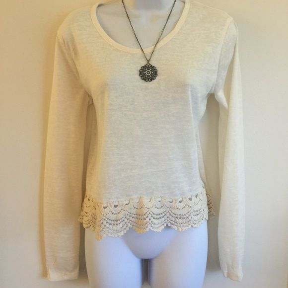 Brand new lose top with knitted hem. Firm unless bundled. Thank you. Rue 21 Tops Blouses