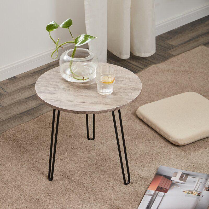 metal hairpin 3 legs coffee table in