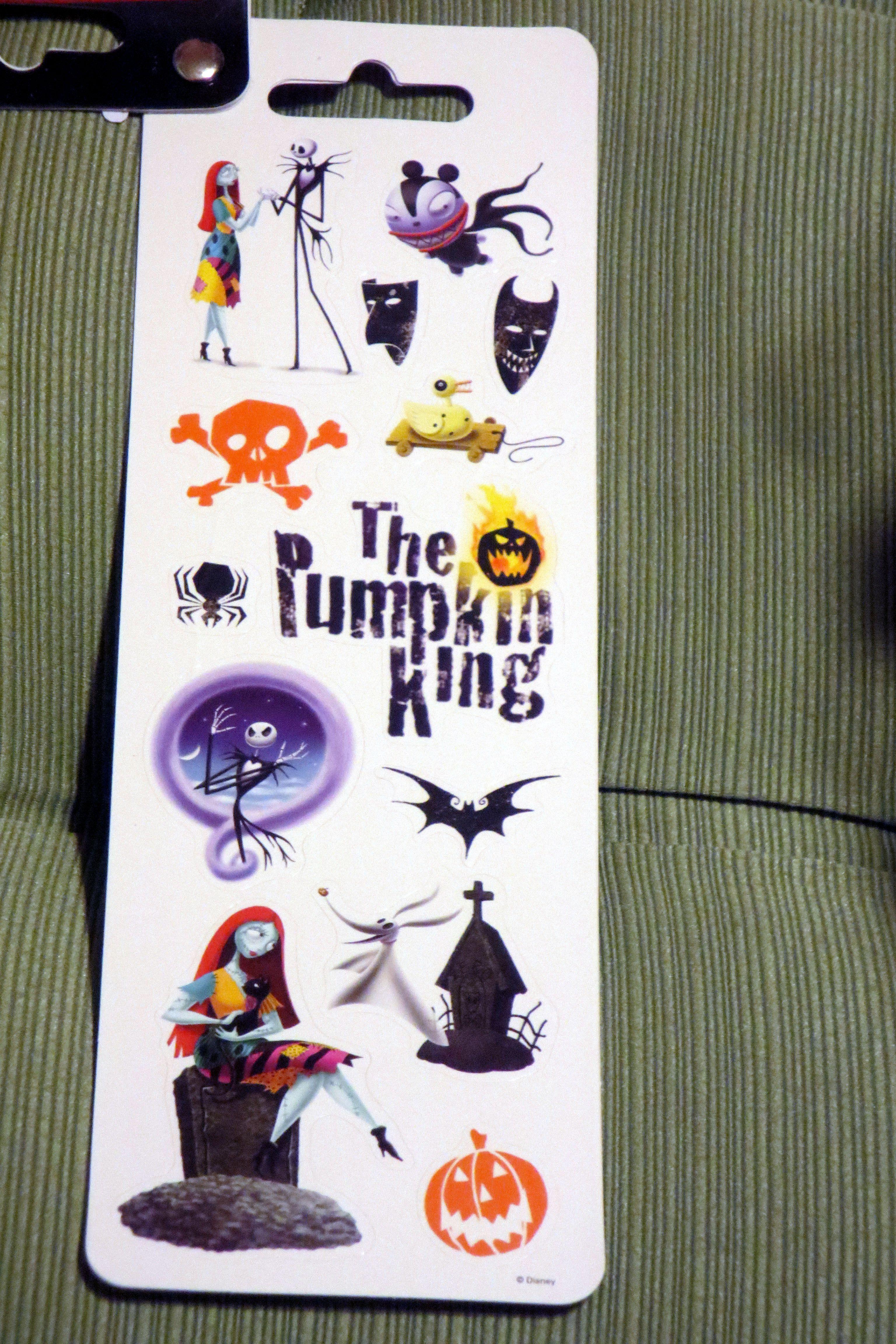 Nightmare Before Christmas stickers page 4 | Tim Burton | Pinterest