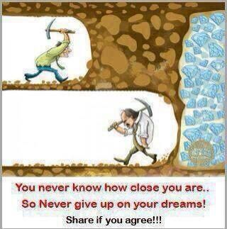 Never quit.. MLM'S can and do work!!! You can DO IT PEOPLE