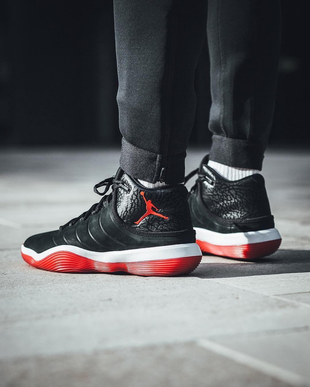 Jordan Super Fly 2017 Bred With Images Air Jordan Sneakers