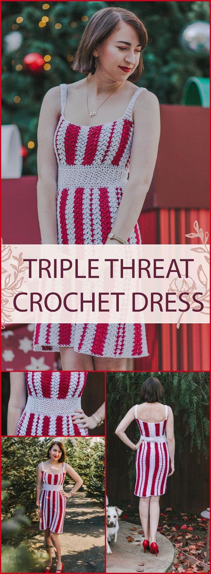 Crochet Dress Pattern - Free Crochet Patterns #crochetdress