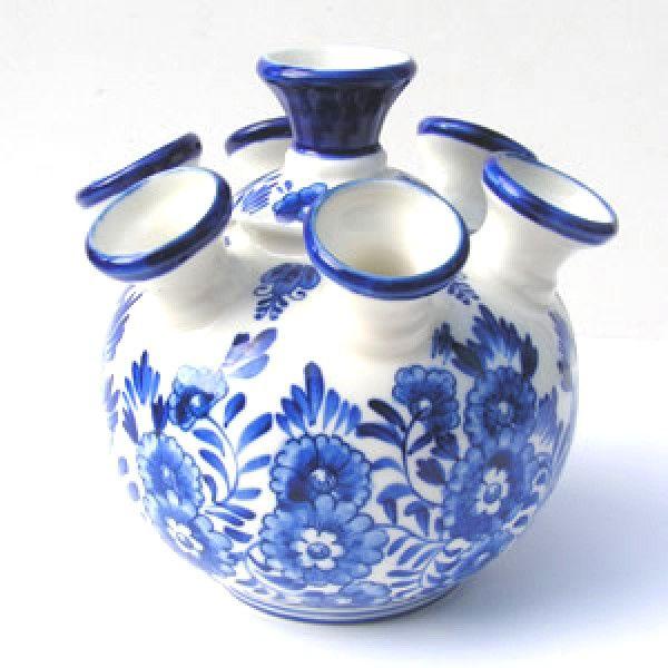 Tulip Vase Delft Blue Flower Vases And Pottery Delft Blue