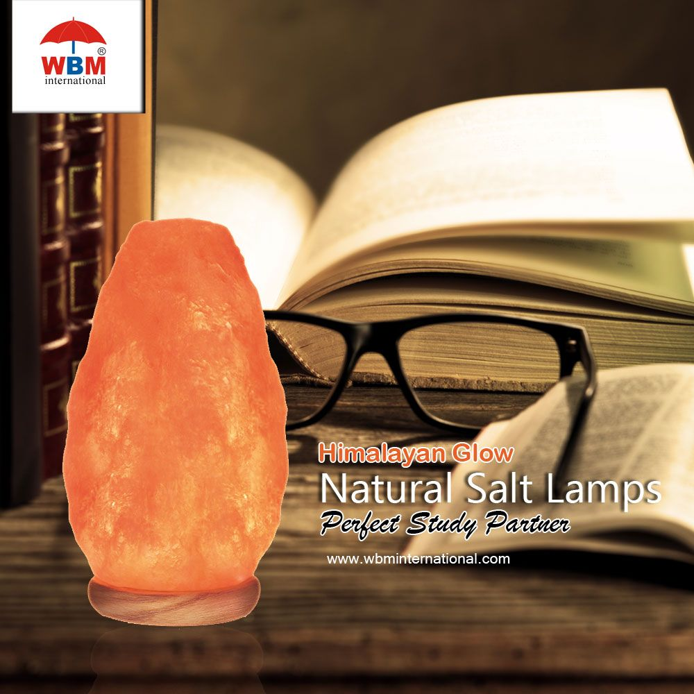 Wbm Salt Lamp Beauteous Wbm International Himalayan Pink Salt Lamp Is A Perfect Study Design Decoration