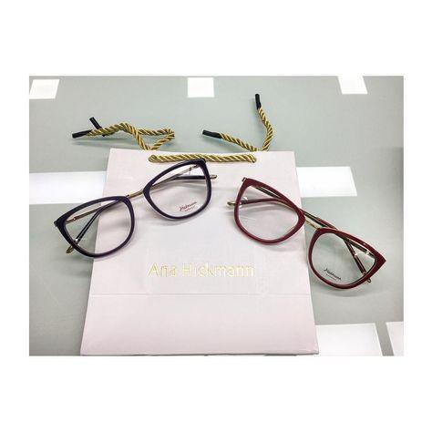 "6 curtidas, 1 comentários - Iperottica ( iperottica) no Instagram  ""Nuovi  arrivi in negozio! Ana Hickmann eyewear! Eleganti e coloratissimi!   anahickmann…"" 15127d9ac0"