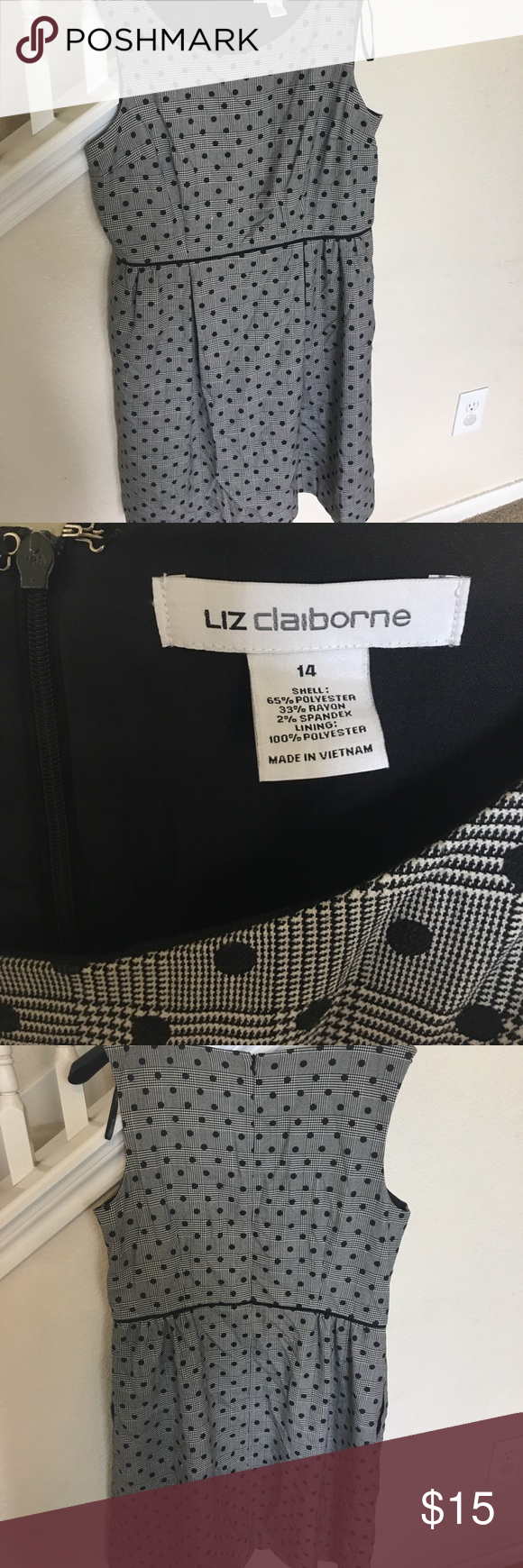 Liz Claiborne Formal Dress D 14 And As