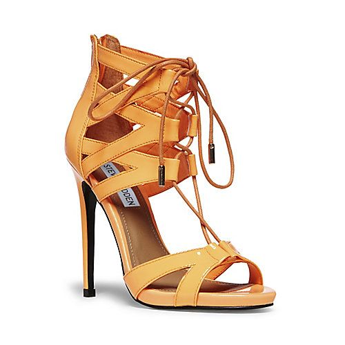 precio oficial venta barata ee. zapatos elegantes MAIDEN CORAL PATENT women's dress high strappy - Steve Madden ...