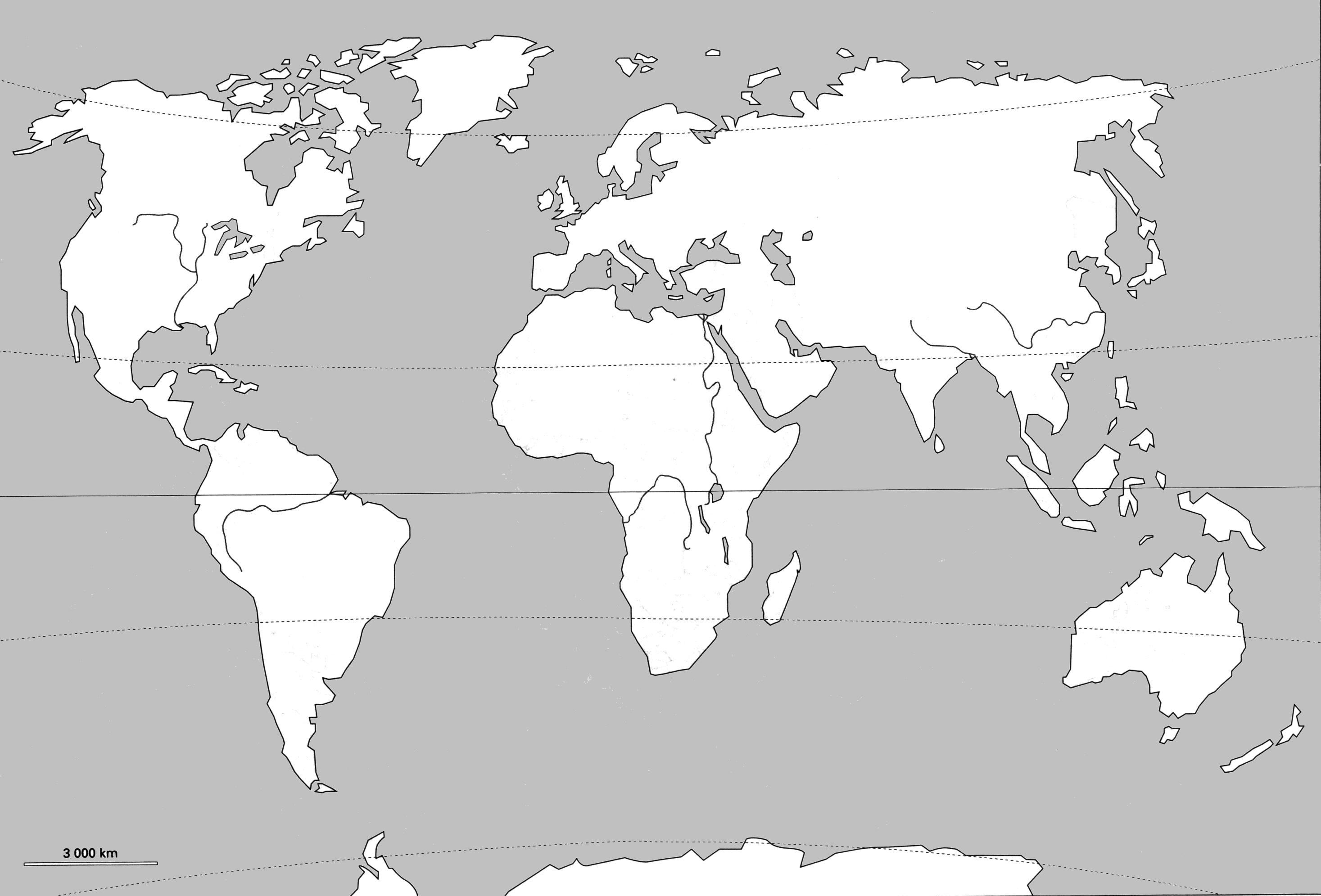 Carte Du Monde Vierge Carte Du Monde Carte Du Monde A Imprimer