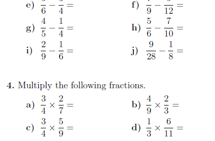 26+ Typical add subtract multiply divide fractions worksheet ideas in 2021