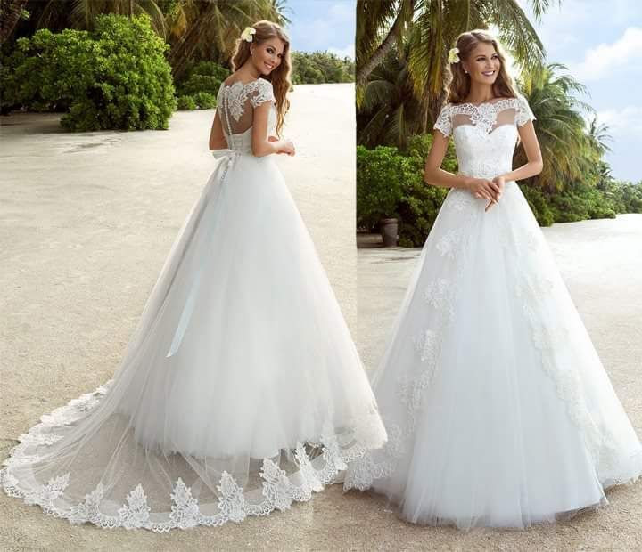 Ball Gown Wedding Outfit With Long Train Wedding Dresses Ball