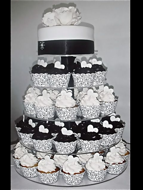Black And Gold Wedding Cakes   Wedding Cakes   Cupcakes and Cake ...