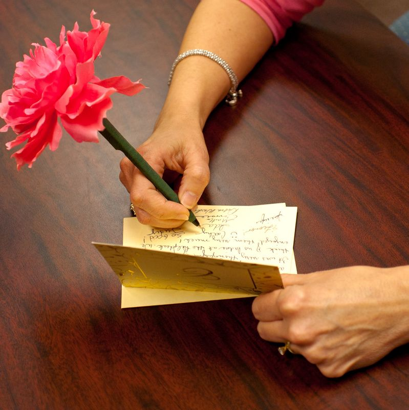 send thank you notes as it will look so polite and show your