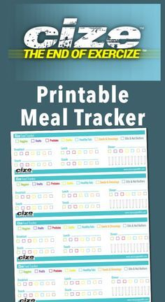 Free Cize Meal Tracker