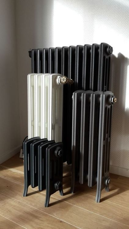 Just Pinned To Radiator: Radiateur Fonte Modeles A Colonnes.