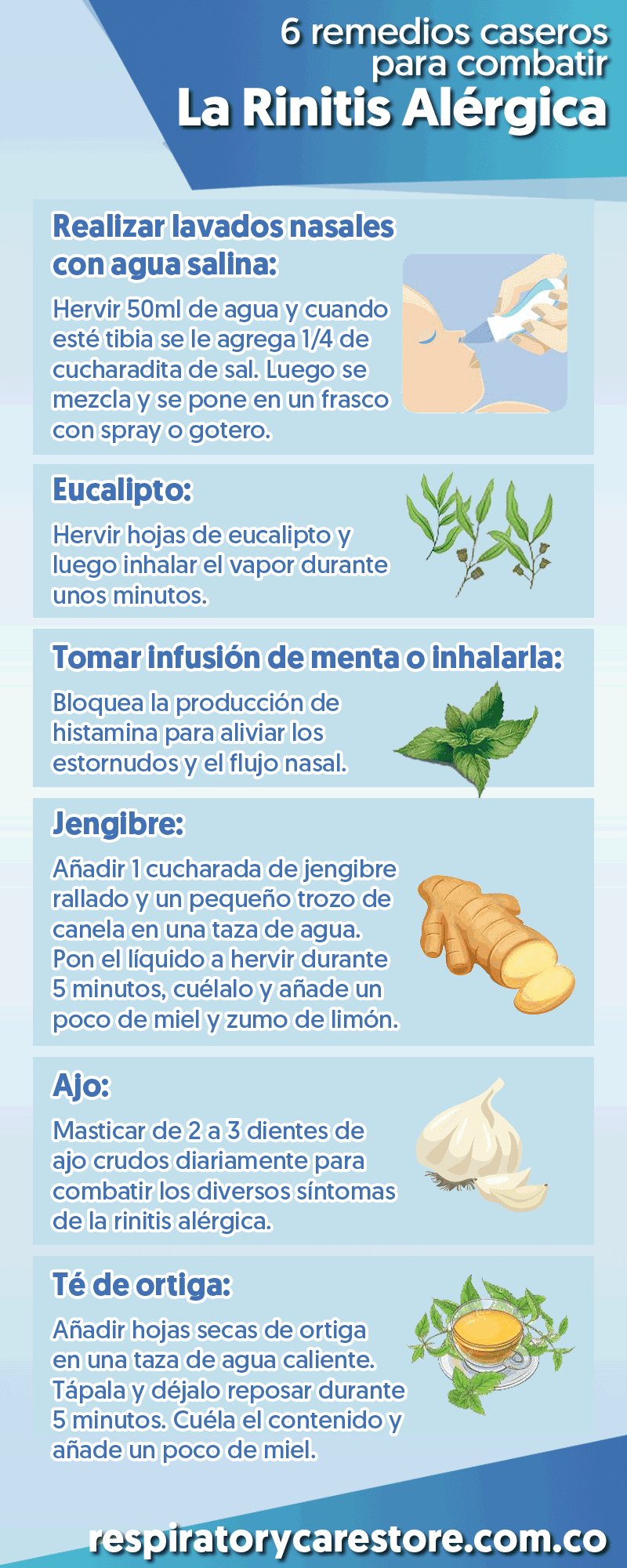 Rinitis Alérgica Rinitis Alérgica Remedios Caseros Remedios