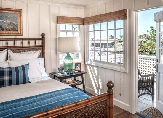 Tiny Beach Cottage Bedroom