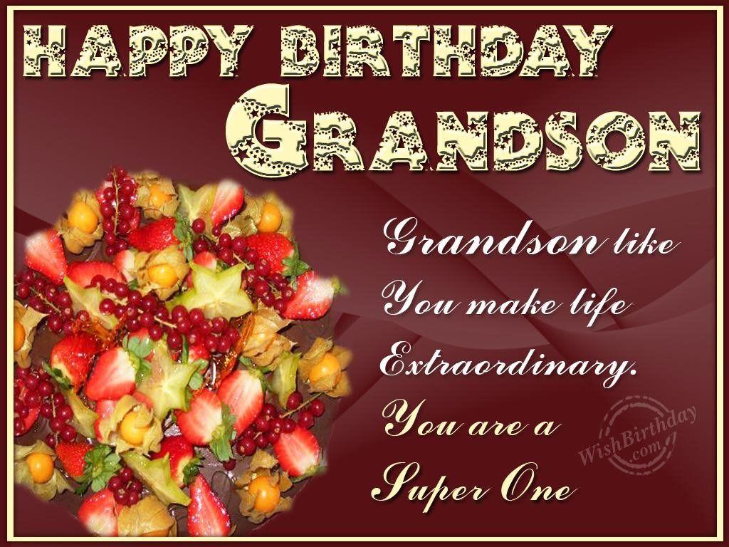birthday for grandson – Birthday Cards Grandson