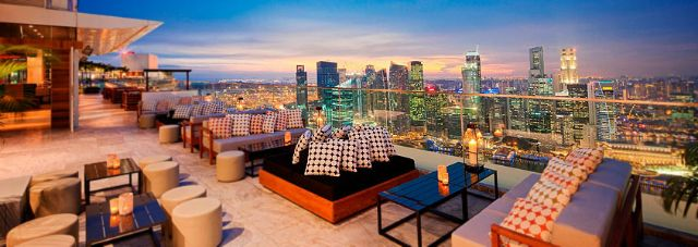 CE LA VI Singapore (formerly KU DE TA) Enjoys One Of The Best Views In  Singapore. Its Location On The Floor Of Marina Bay Sands Offers  Uninterrupted Views ...