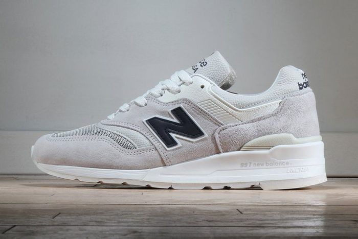 b68ad32b0d New Balance 997 – Made in USA (Pebbled White) | Everything | Grey ...