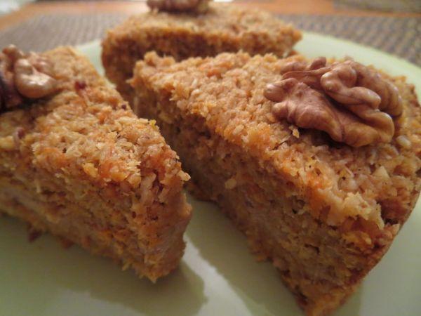 Fotorecept: Mrkvovo-citrónová torta s tofu krémom - Recept pre každého kuchára, množstvo receptov pre pečenie a varenie. Recepty pre chutný život. Slovenské jedlá a medzinárodná kuchyňa