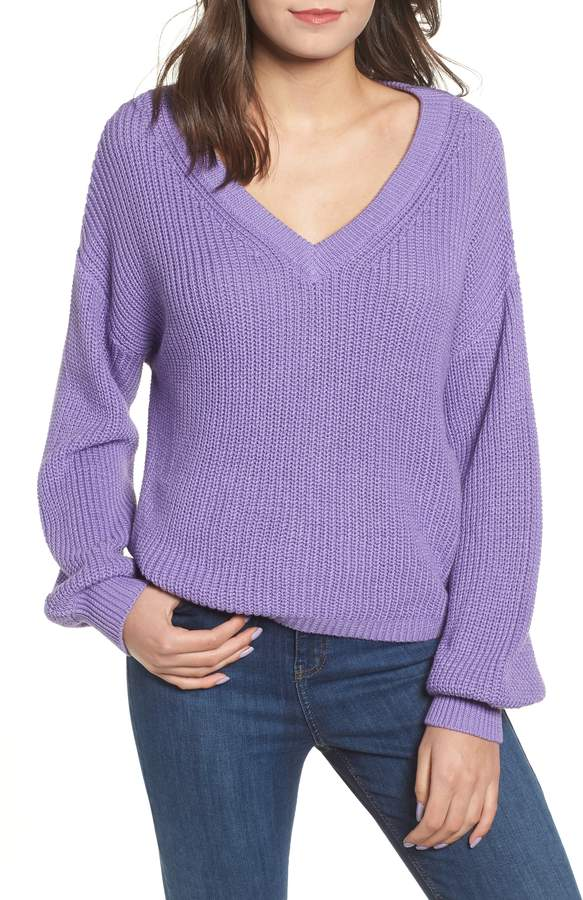 b5b904385 BP V Neck Cotton Sweater