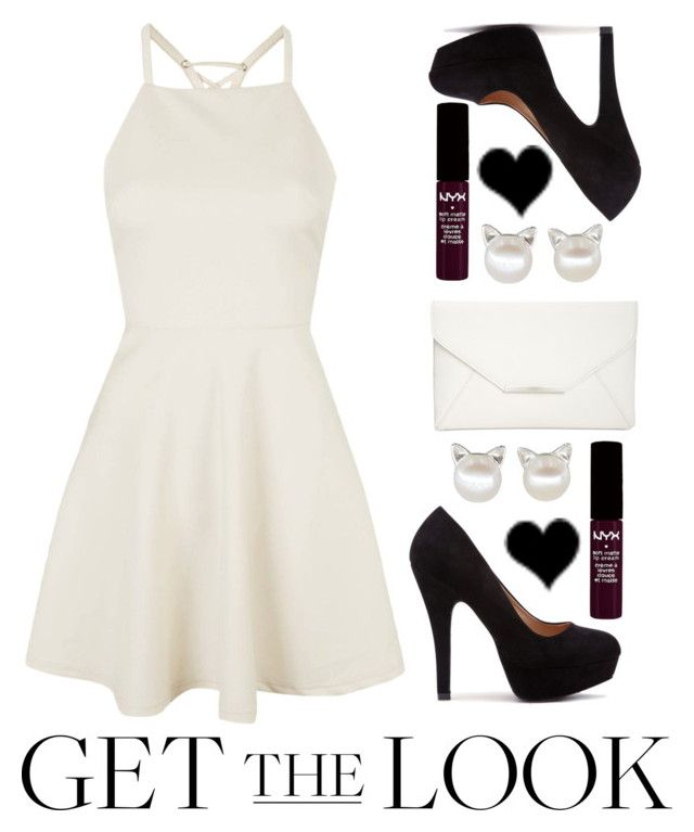 """""""Get The Look Under $150"""" by mickey733 ❤ liked on Polyvore featuring Topshop, Style & Co., NYX, GetTheLook, contestentry and wardrobebasics"""