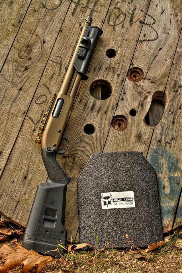 Remington w/Magpul