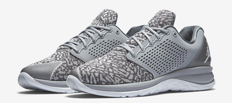 Nike Air Jordan Flight Runner 3 Silver