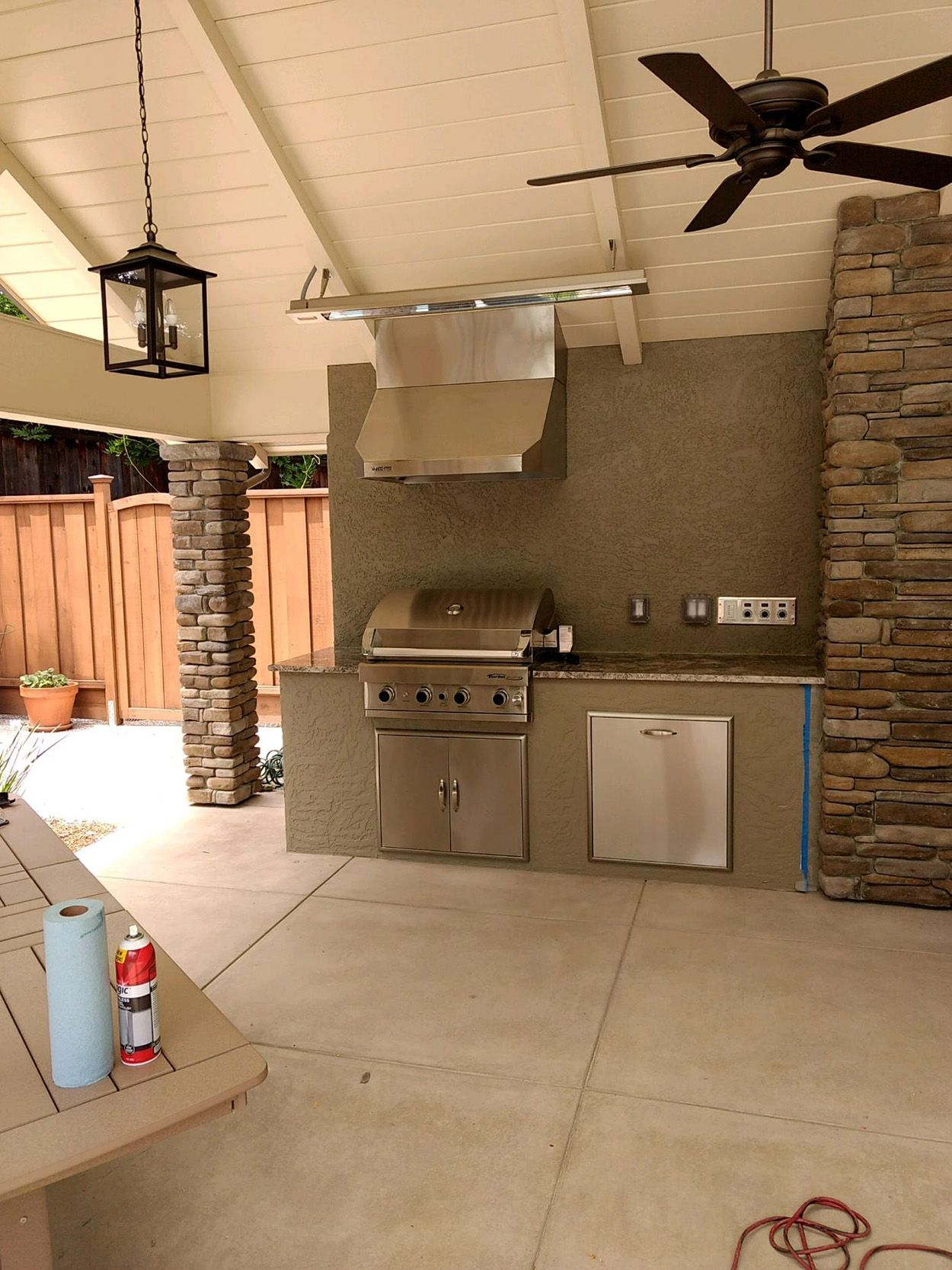 Should I Install A Fan In My Outdoor Kitchen Outdoor Kitchen Outdoor Kitchen Design Outdoor Living Rooms