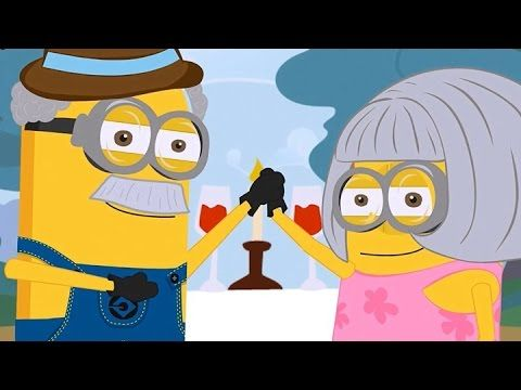 Grow Old With You | The Wedding Singer ~ Minions Edition ~ Funny Cartoon...