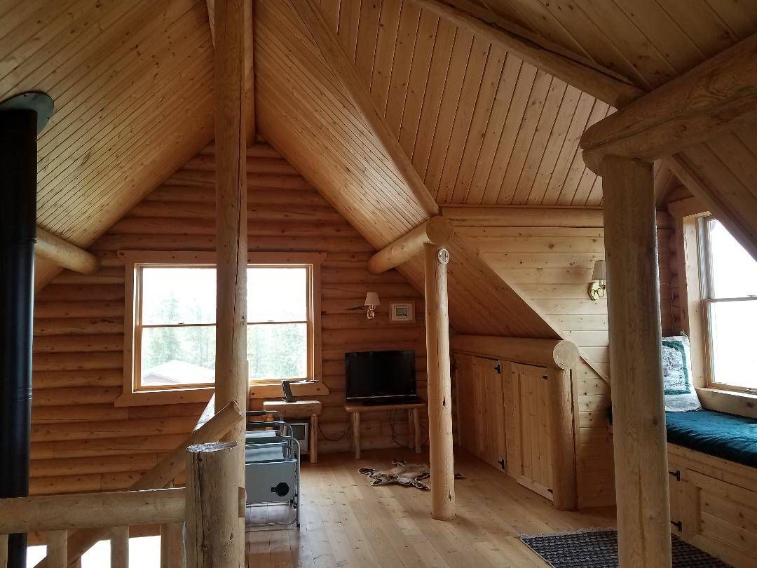 Remote Log Cabin With Spectacular Views Log Cabin Homes Cabin Homes Cabin Life