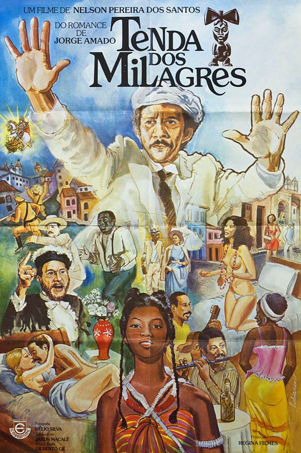 Tent Of Miracles 1977 Brazilian A1 Poster Posteritati Movie